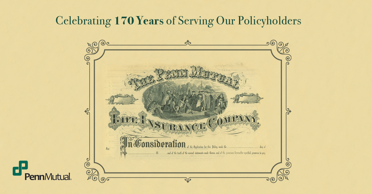 Historical Penn Mutual document