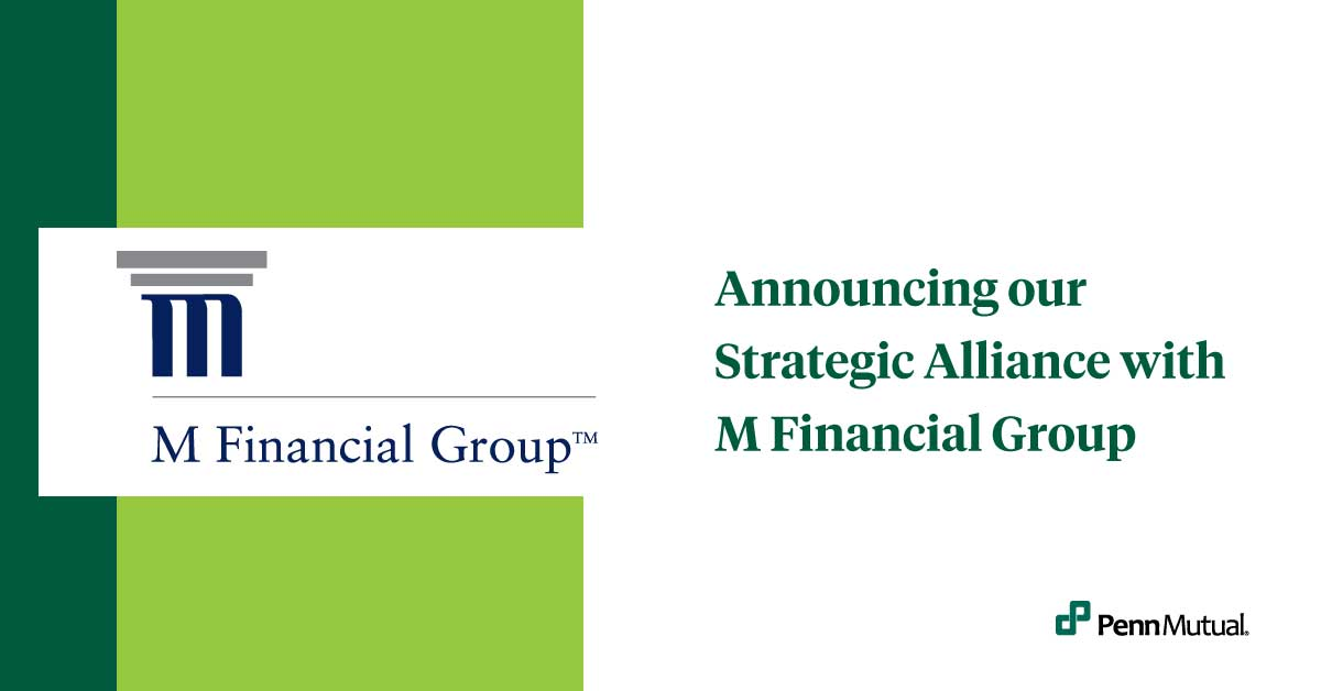 Announcing our strategic alliance with M Financial Group